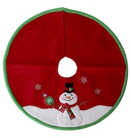 Darice Mini Christmas Tree Skirts 18 Inch Snowman