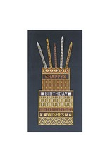 PAPYRUS® Birthday Card Foil Cake Happy Birthday Wishes