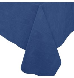 Caspari Moire Printed Paper Linen Table Covers In Blue