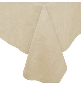 Caspari Moire Printed Paper Linen Table Covers In Gold