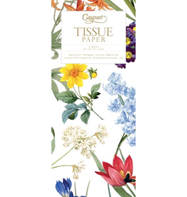 Caspari Gift Tissue Paper 4 Sheets Redoute Floral