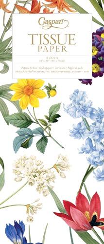 Caspari Gift Tissue Paper 4 Sheets Redoute Floral
