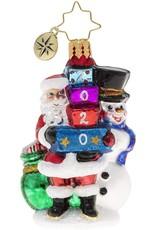 Christopher Radko 2020 Winter Friends Gem Christmas Ornament