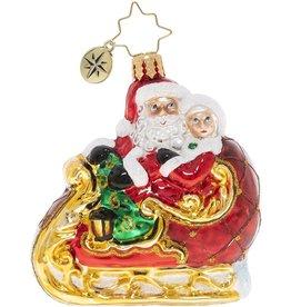 Christopher Radko Date Night Gem Christmas Ornament