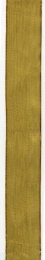 Caspari Ribbon 9 yrds 1.5W Inch Sheer Gold