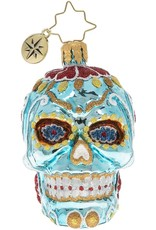 Christopher Radko Spooky La Calavera Gem Christmas Ornament