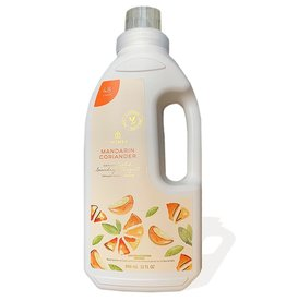 Thymes Mandarin Coriander Concentrated Laundry Detergent 32 Oz