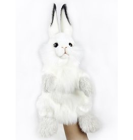 Hansa Toy Plush Hand Puppet Bunny Rabbit 7156
