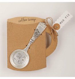 Mud Pie Circa Coffee Scoop w This is How We Brew It by Mud Pie Gifts