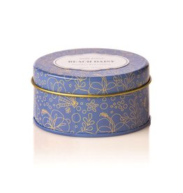 Rosy Rings Soy Candle Travel Tin 2.75oz Beach Daisy