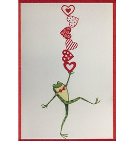 Caspari Valentine's Day Card All The Love Your Heart Can Hold