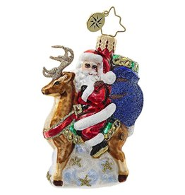 Christopher Radko Love My Ride Little Gem Christmas Ornament 1018777