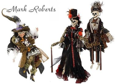Mark Roberts Halloween Witches Fairies & Elves