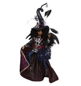Mark Roberts Fairies Halloween Witches 51-77506 Queenie Witch SM 13 inch