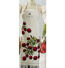Twos Company Farm to Table Apron with Pie Tin -C Cranberry Tart