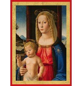 Caspari Boxed Christmas Cards Set of 16 Madonna and Child