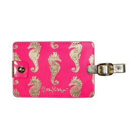 Lilly Pulitzer® Luggage Tag Sea Horse Horsin Around