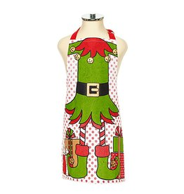 Harman Christmas Apron Kids Holiday Elf Character Apron