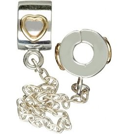 Chamilia Lock Sterling Silver MD-3 XX with Chains