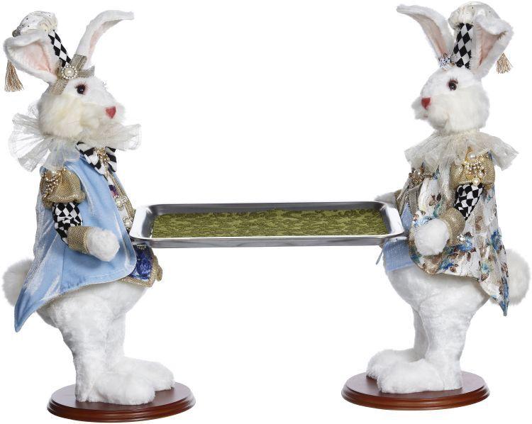 Mark Roberts Fairies Bunnies 2 Butler Bunny With Tray 20 inch