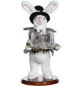 Mark Roberts Fairies Bunnies Butler Bunny Salt and Pepper Rabbit 11 inch