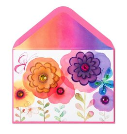Papyrus Greetings Mothers Day Card Watercolor Garden