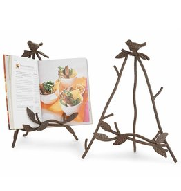 Mud Pie Cast Iron Bird Easel for iPad Books Frames