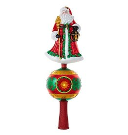 Christopher Radko Finial Tree Topper Father Christmas