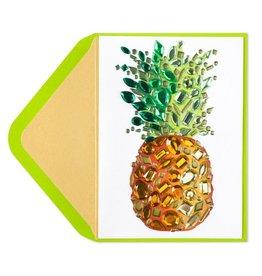 PAPYRUS® Thank You Card Gem Pineapple