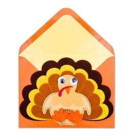 Papyrus Greetings Thanksgiving Card Felt Happy Turkey Day