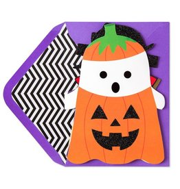 Papyrus Greetings Halloween Card Ghost Accordion Banner