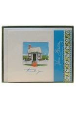 Vera Bradley Seaside Cottage Thank You Notes Boxed Set of 10