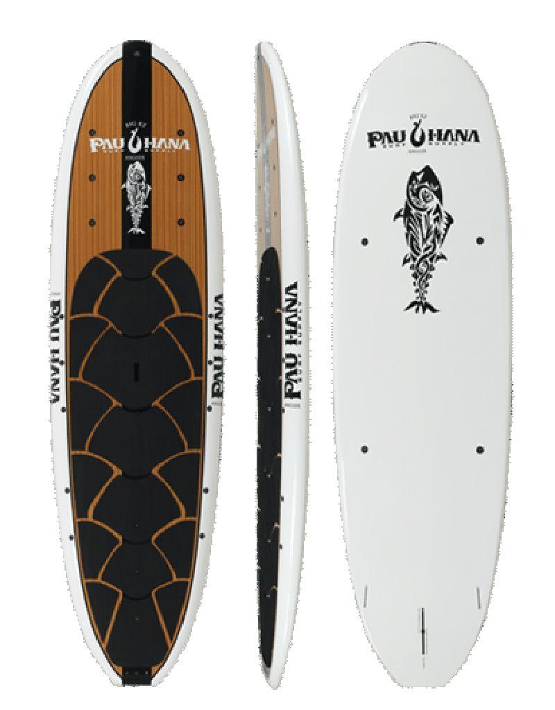 """Pau Hana Surf Supply Pau Hana Big EZ Angler 36"""" SUP with Ricochet"""