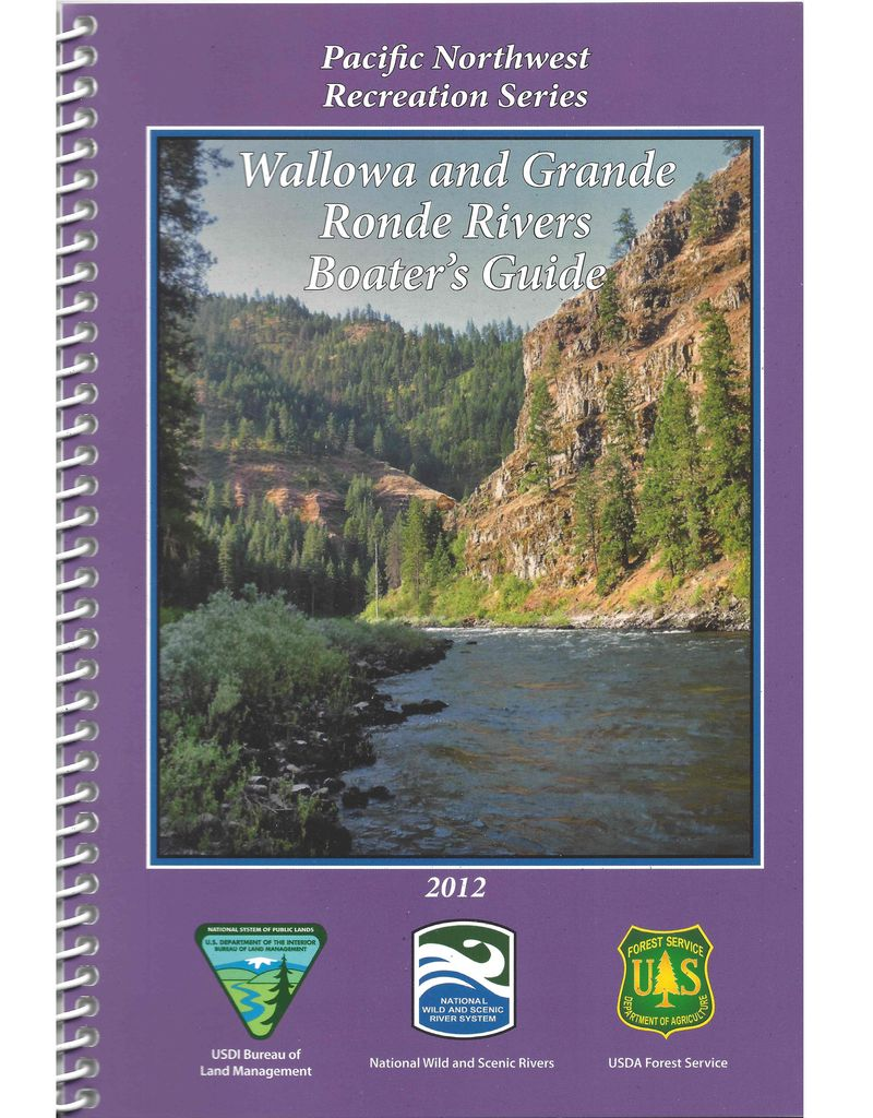 Wallowa and Grande Ronde Rivers Boater's Guide