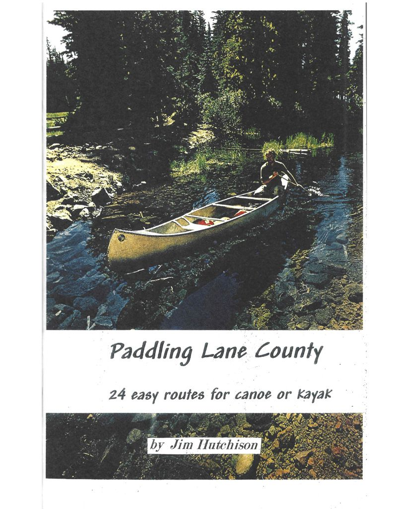 Paddling Lane County Book