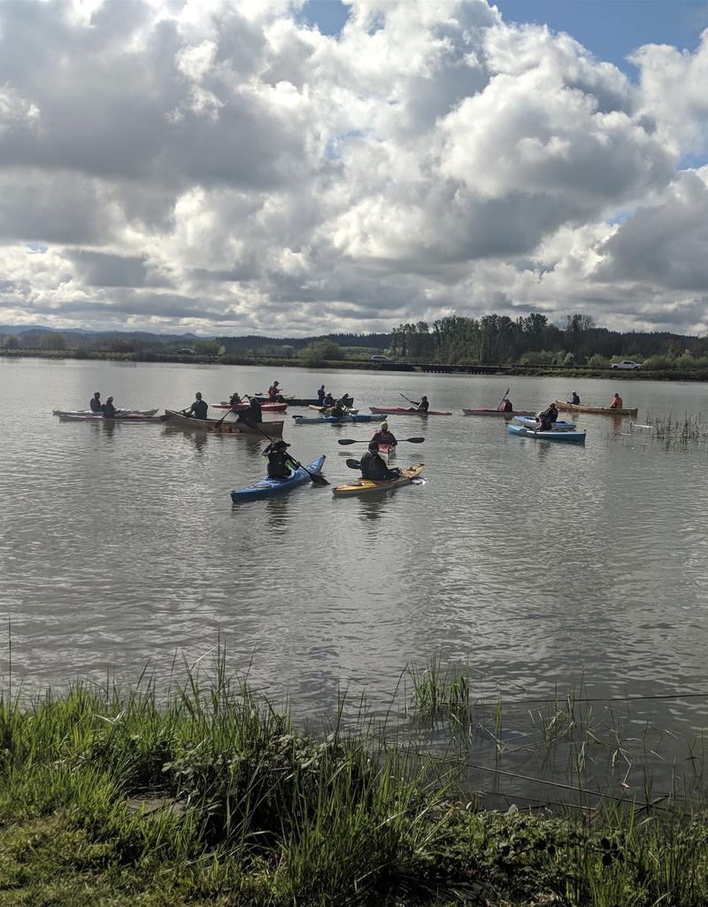 Oregon Paddle Sports Fundamentals of Paddling Class