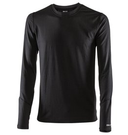 BULA BULA MENS THERMAL CREW TOP BLACK