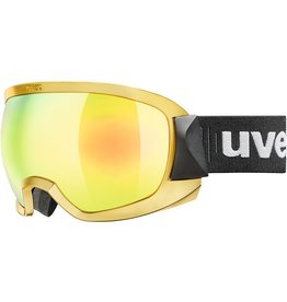 UVEX UVEX SKI GOGGLE CONTEST FM CHROME/GOLD MIRROR GOLD