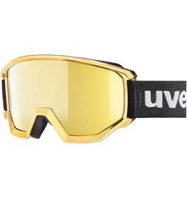 UVEX UVEX 2019 SKI GOGGLE ATHLETIC FM CHROME MIRROR GOLD
