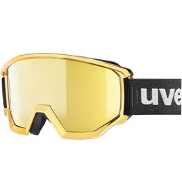 UVEX UVEX SKI GOGGLE ATHLETIC FM CHROME MIRROR GOLD
