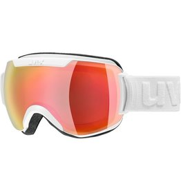 UVEX UVEX 2019 SKI GOGGLE DOWNHILL 2000 FM WHITE MIRROR RED