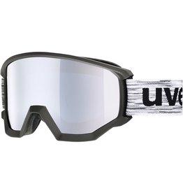 UVEX UVEX SKI GOGGLE COMPACT FM BLACK MIRROR GREEN