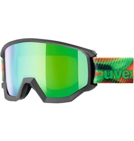UVEX UVEX SKI GOGGLE ATHLETIC FM ANTHRAZIT MIRROR GREEN