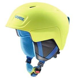 UVEX UVEX 2019 SKI HELMET MANIC PRO LIME/BLUE