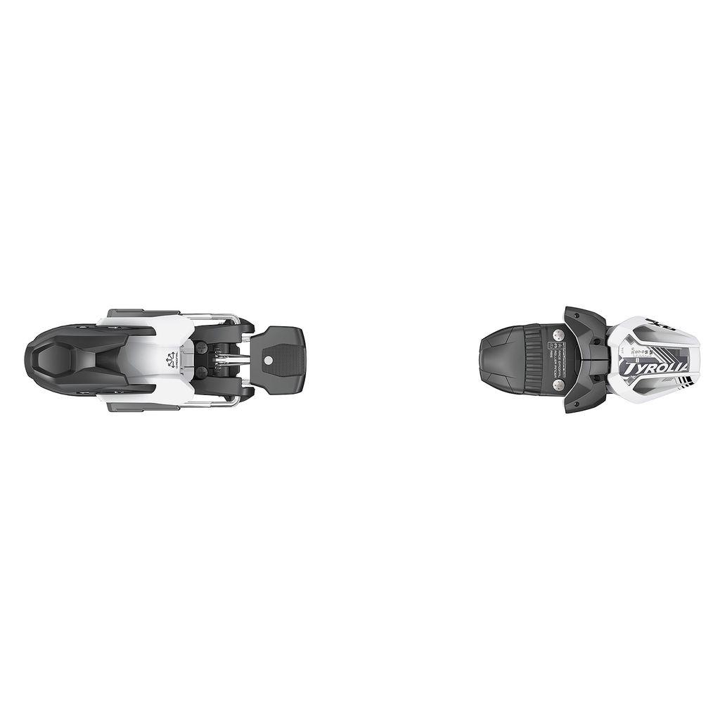 HEAD/TYROLIA HEAD 2019 SKI BINDING RX 12 BRAKE 110MM (D) MATT WHITE BLACK