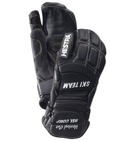 HESTRA HESTRA SKI GLOVE RSL COMP VERTICAL CUT 3-FINGER BLACK