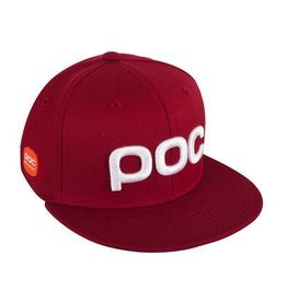 POC POC 2020 HAT SNAPBACK RACE STUFF GLUCOSE RED