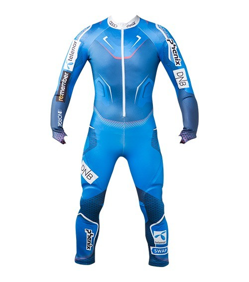 PHENIX PHENIX 2019 RACE SUIT NORWAY ALPINE TEAM JR. GS SUIT NATIONAL BLUE