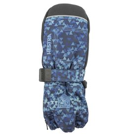 HESTRA HESTRA SKI GLOVE BABY ZIP LONG NAVY PRINT BLUE