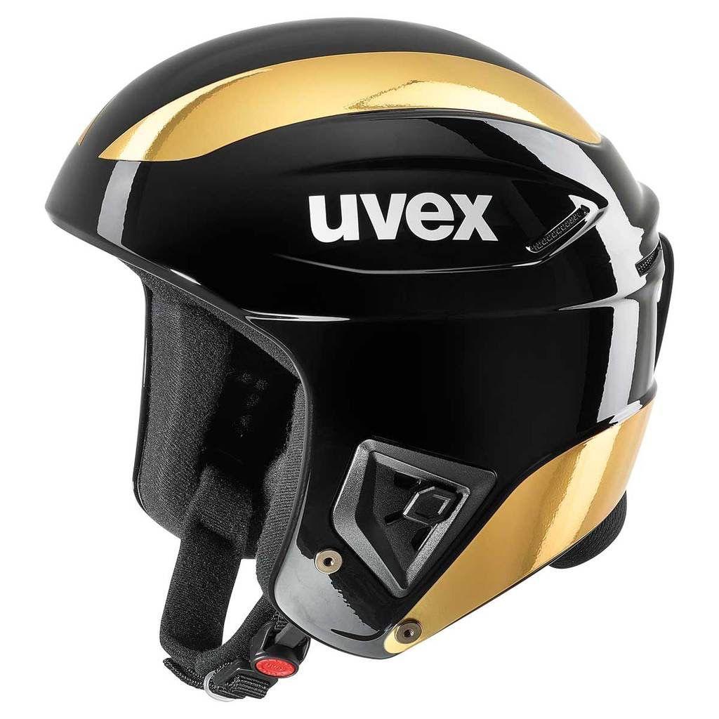 UVEX UVEX SKI HELMET RACE+ FIS BLACK GOLD